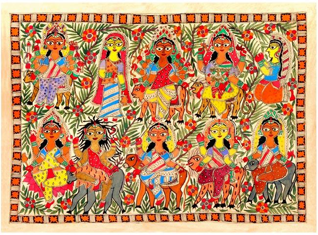 madhubani paintings picture1