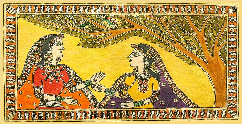 madhubani paintings picture2